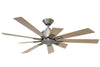 KAZE KEPLER Ceiling Fan - Orion Silver