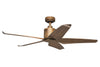 KAZE KINO Ceiling Fan - Whisky Oak