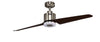 KAZE DUO Ceiling Fan - Silver Cacao (w/LED Light)