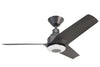 KAZE NOVA Ceiling Fan - Jet Black (w/LED Light)