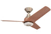 KAZE NOVA Ceiling Fan - Orion Silver (w/LED Light)