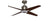 KAZE QUADRO Ceiling Fan - Silver Cacao (w/LED Light)