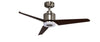 KAZE TRIO Ceiling Fan - Silver Cacao (w/LED Light)