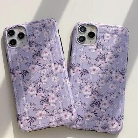 Lavender Floral iPhone 11/11 Pro/11 Pro Max 8/8Plus 7/Plus Case