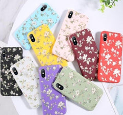 Colorful Flower iPhone 11/11 Pro/11 Pro Max 8/8Plus 7/Plus Cases - Strapletz