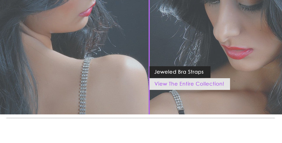 Jeweled Bra Straps