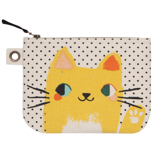 Danica Studio - Meow Meow Large Zip Pouch