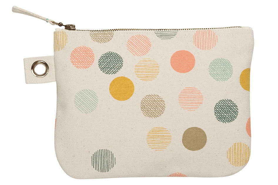 Carousel Large Zip Pouch