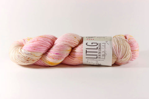 Less Traveled Yarn - Tweed Me Sock