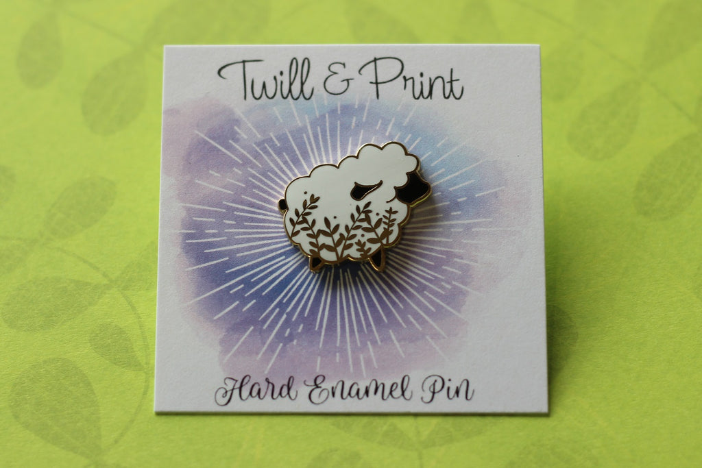 Twill & Print Little Sheep Enamel Pin