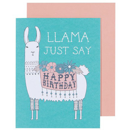 Danica Studio - Llamarama Birthday Card