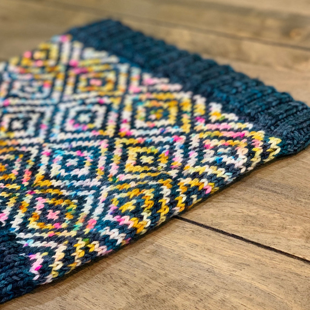Patiki Cowl (or hat!)<br><small> Wed 4/10 & 4/17<br> 3-5 pm</small>