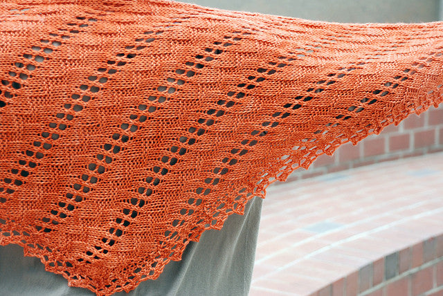 Kahel Shawl (and learn to read a chart!)<br><small>Sat 1/19, 1/26, & 2/9<br> 2-4 pm</small>