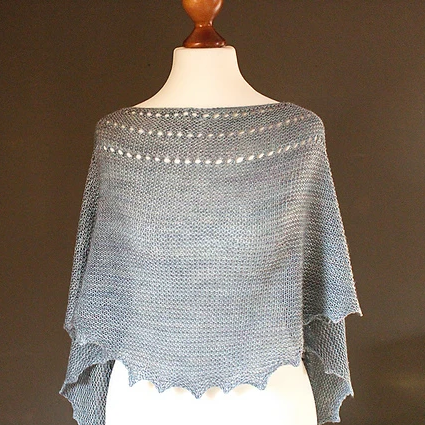 The River (great first shawl!)<br><small> Wed 9/25 & 10/16<br> 10 am-12 pm</small>