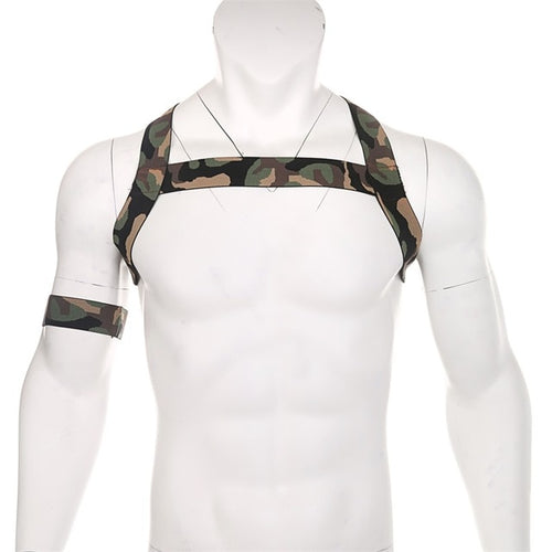 Camouflage Chest Harness & Armband