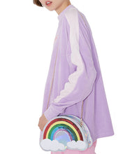 Load image into Gallery viewer, LGBT+ Pride Rainbow Shoulder Bag