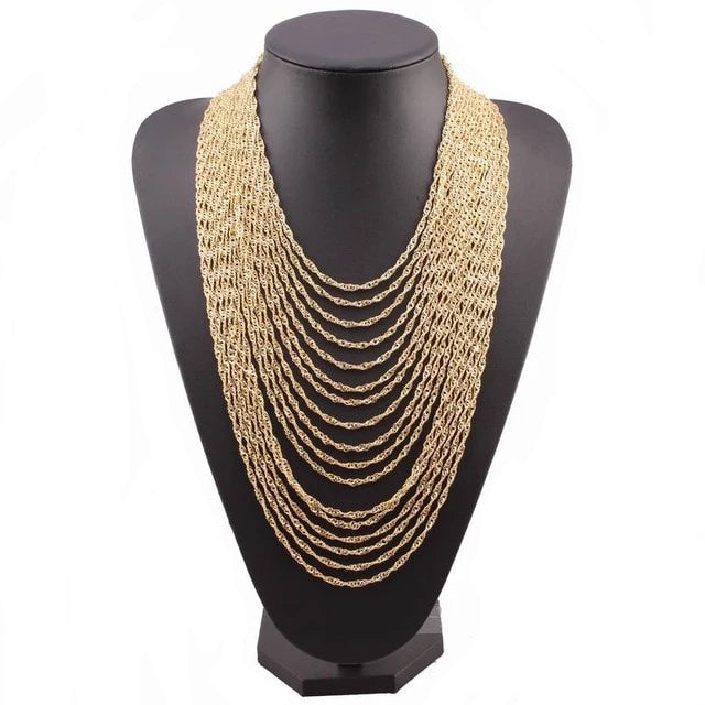 Drag Queen Multi Layer Necklace