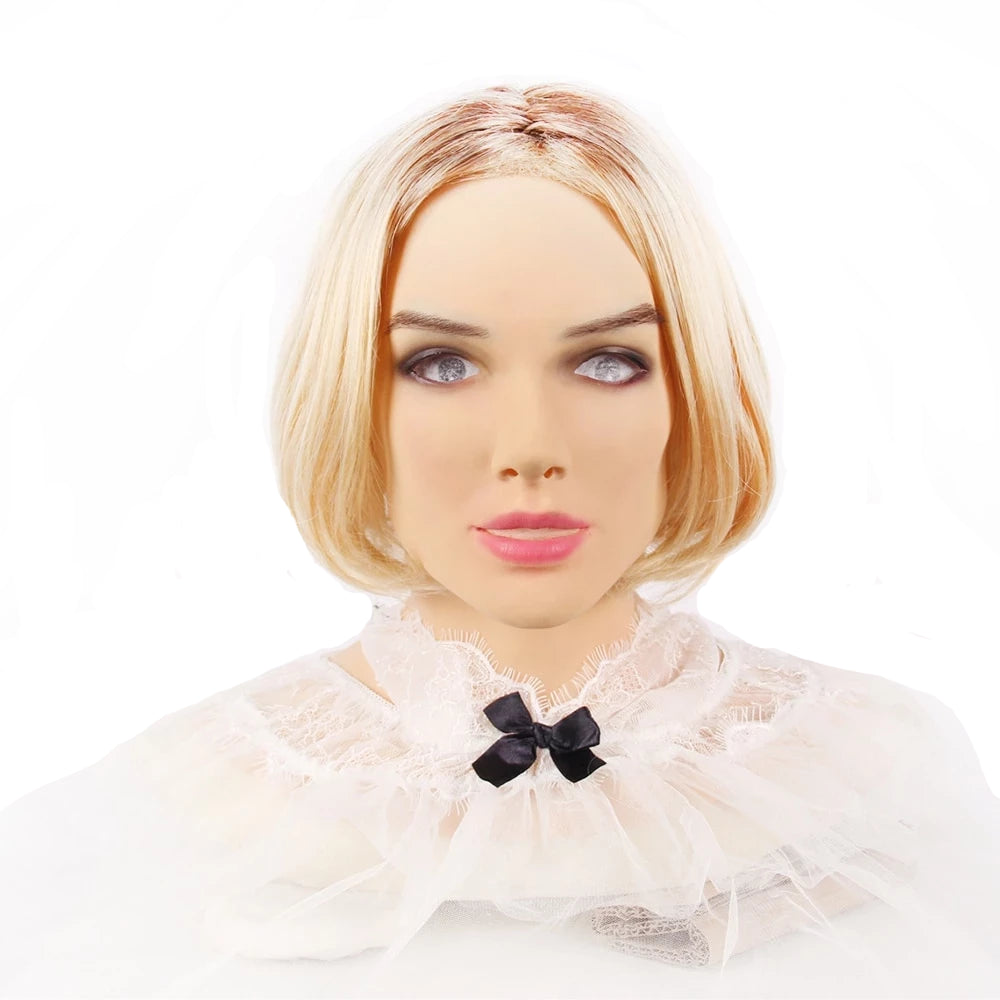 """Anna"" Realistic Silicone Crossdressing Mask"