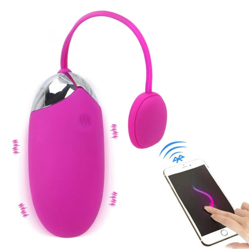 APP Bluetooth Wireless Remote Control Vibrating Egg