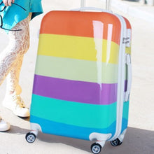 Load image into Gallery viewer, LGBT+ Pride Rainbow Suitcase