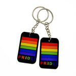 1PC Gay Pride Rainbow Keychain