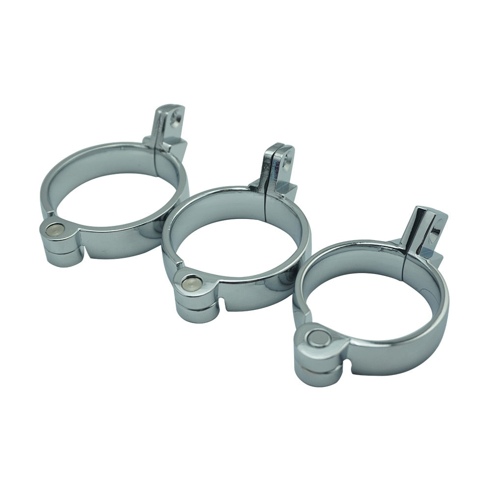 40mm 45mm 50mm Cock Ring Lock for Chastity Cage