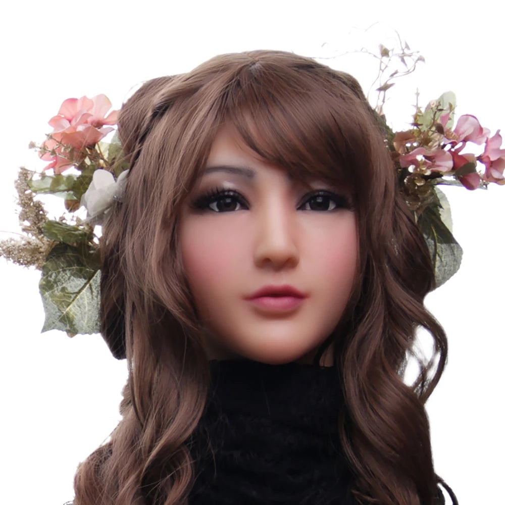 """Claire"" Silicone Crossdressing Mask"