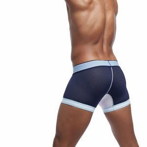 5Pcs/Lot Mesh Boxer Shorts