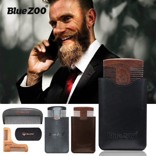 Beard Shaping Sandalwood Styling Combs