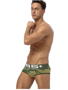 Camouflage Cotton Briefs