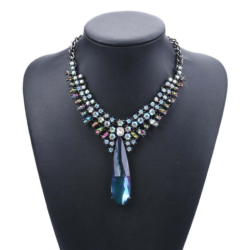 Drag Queen Ice Crystal Necklace