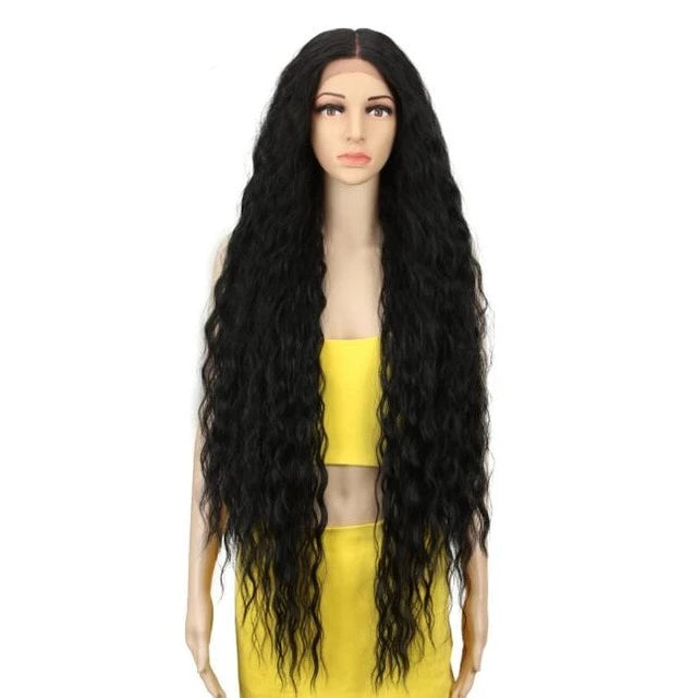 Long Curly Crossdressing Wig