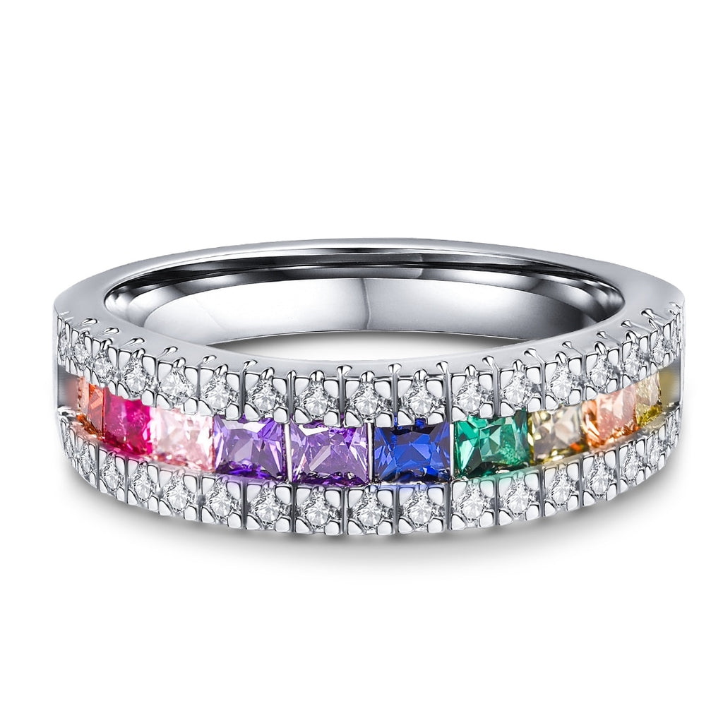 LGBT Pride Engagement Ring