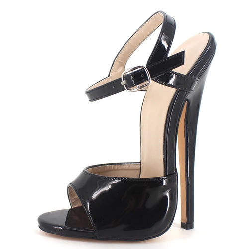 Ankle Strap Thin High-Heeled Sandals