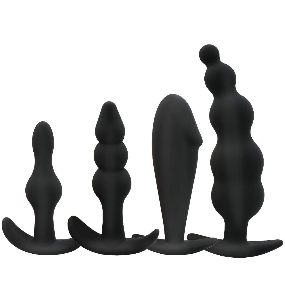Silicone Butt Plug & Prostate Massager