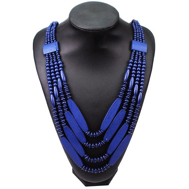 Drag Queen Multilayer Beaded Necklace