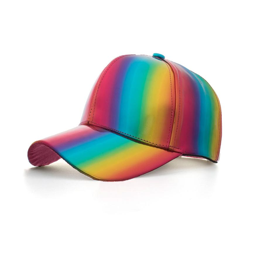 LGBT Pride Waterproof Rainbow Baseball Cap