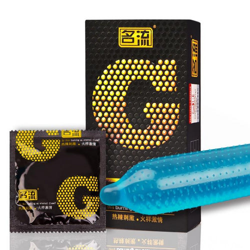 10 Pieces G-Point Condom