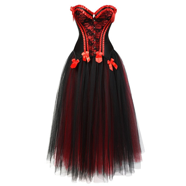 Crossdress Tulle Corset Dress