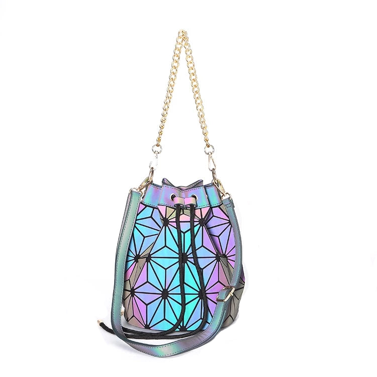 LGBT+ Pride Luminous Rainbow Drawstring Bucket Bag