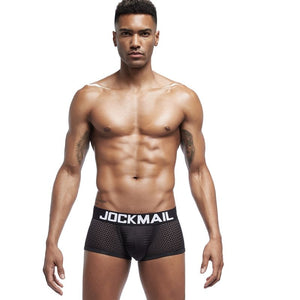 Breathable Mesh Boxer Shorts
