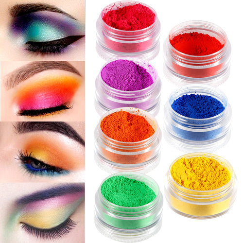 Drag Queen Matte Eyeshadow Powder Set (7 colors)