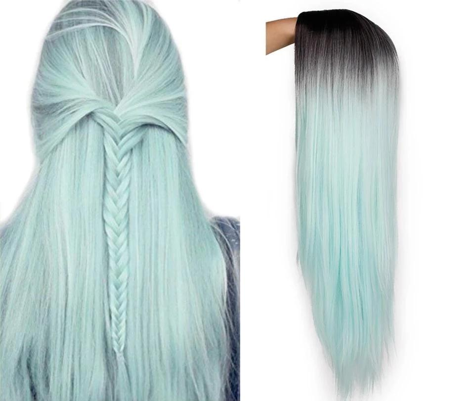 Ombre Straight Long Wig