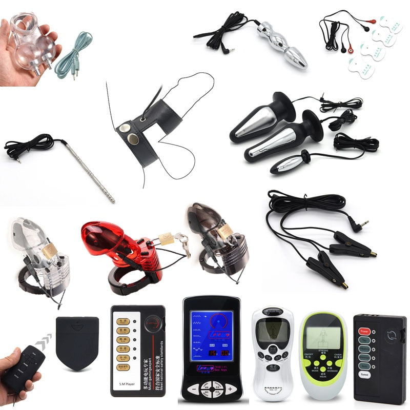 BDSM Electric Shock Accessories