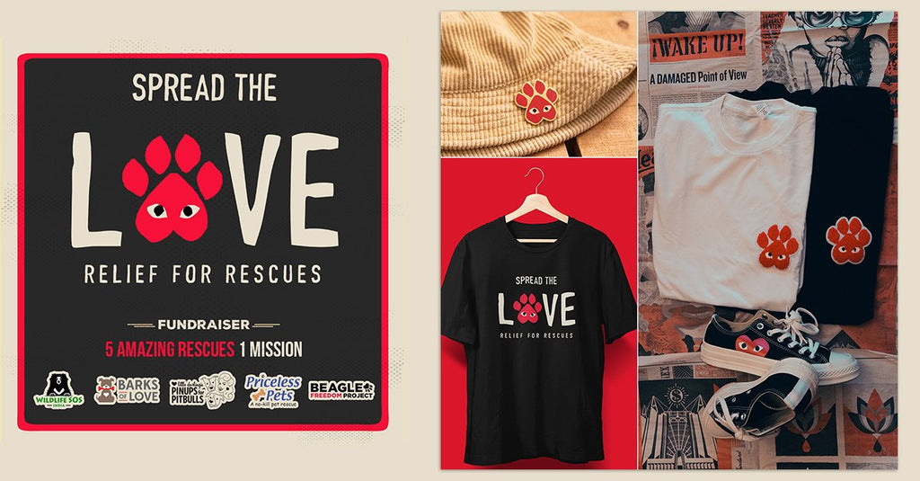 Spread The Love: Relief For Rescues Is On!