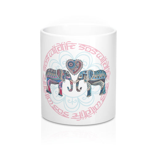 Accessory | WLSOS Mandala Elephant | Coffee Mug