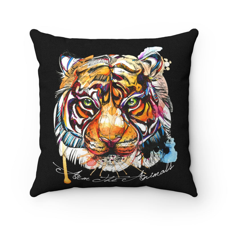 Home Goods | Brilliant Bengal | Square Pillow