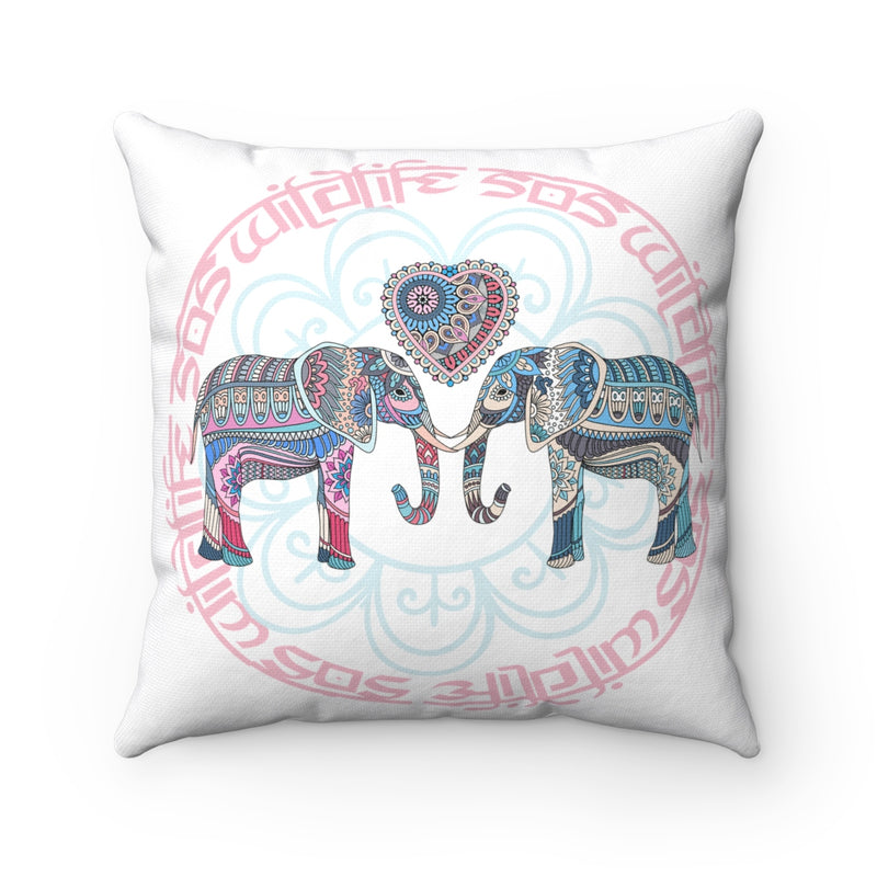Accessory | WLSOS Mandala Elephant | Square Pillow