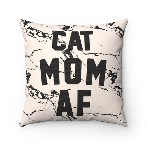 Home Goods | Cat Mom AF | Square Pillow