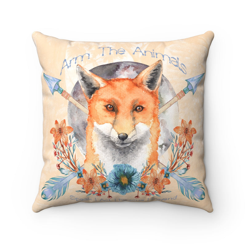 Home Goods | Fox Confessor | Square Pillow